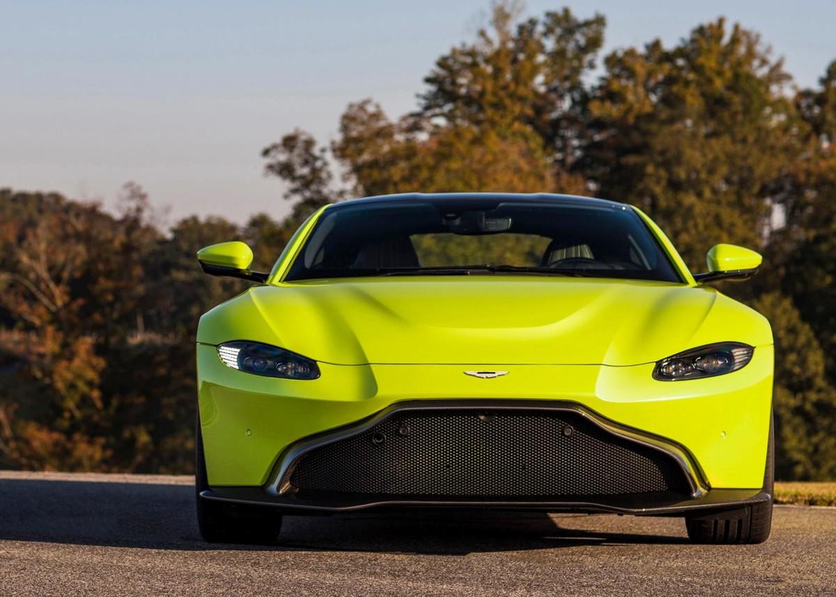 Aston Martin Vantage 2018 Launch Review Cars Co Za