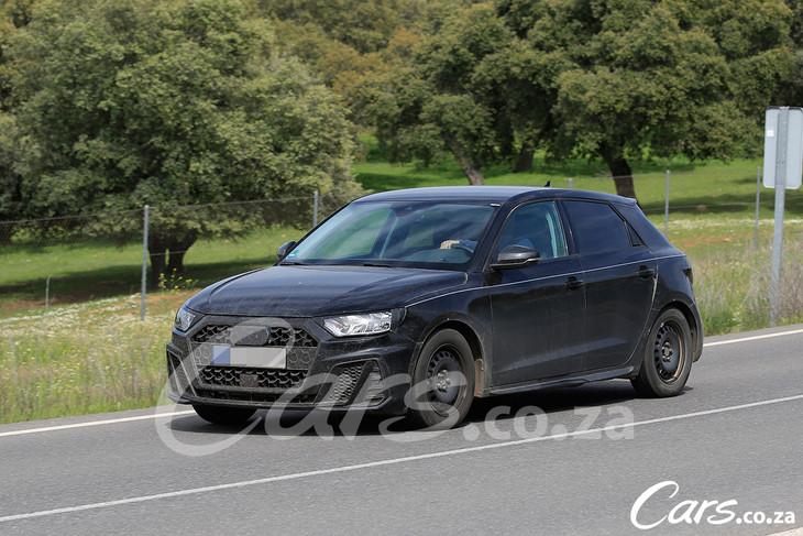 Spy Shots New Audi A1 Cars Co Za