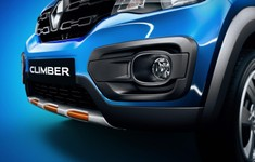 Kwid Climber Front On Blue