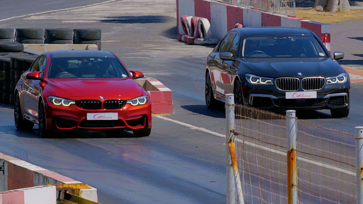 Drag Race Bmw M4 Competition Pack Vs Bmw M760li Cars Co Za