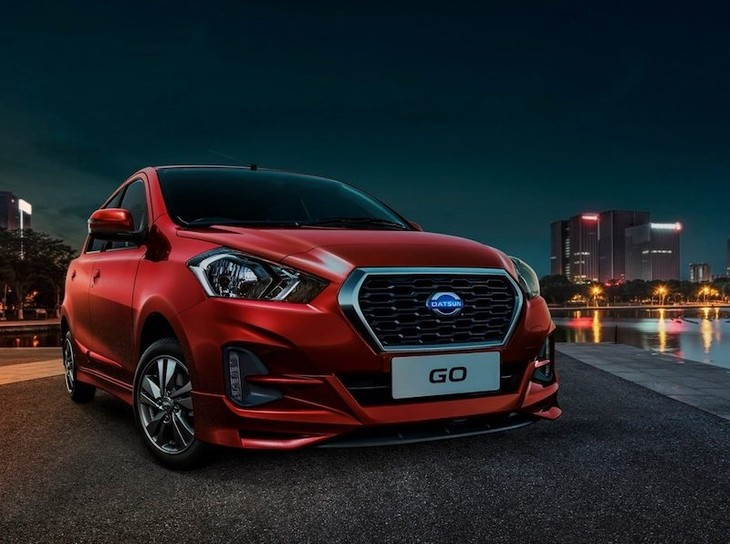 2018 Datsun GO Facelift Front Three Quarters Right Side