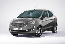 2018 Ford Ka 2018 Ford Figo Front Three Quarters Left Side