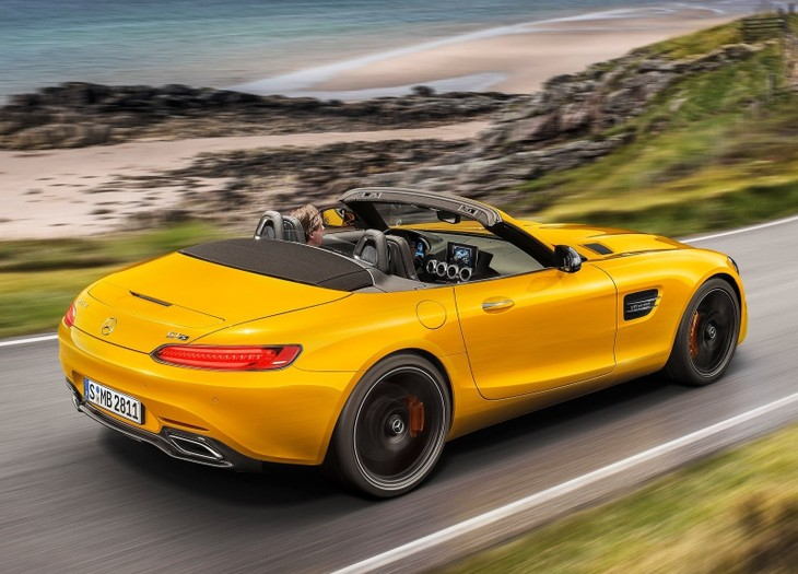 Mercedes Amg Gt S Goes Topless Cars Co Za