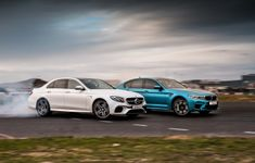 BMWM5 MercE63AMG