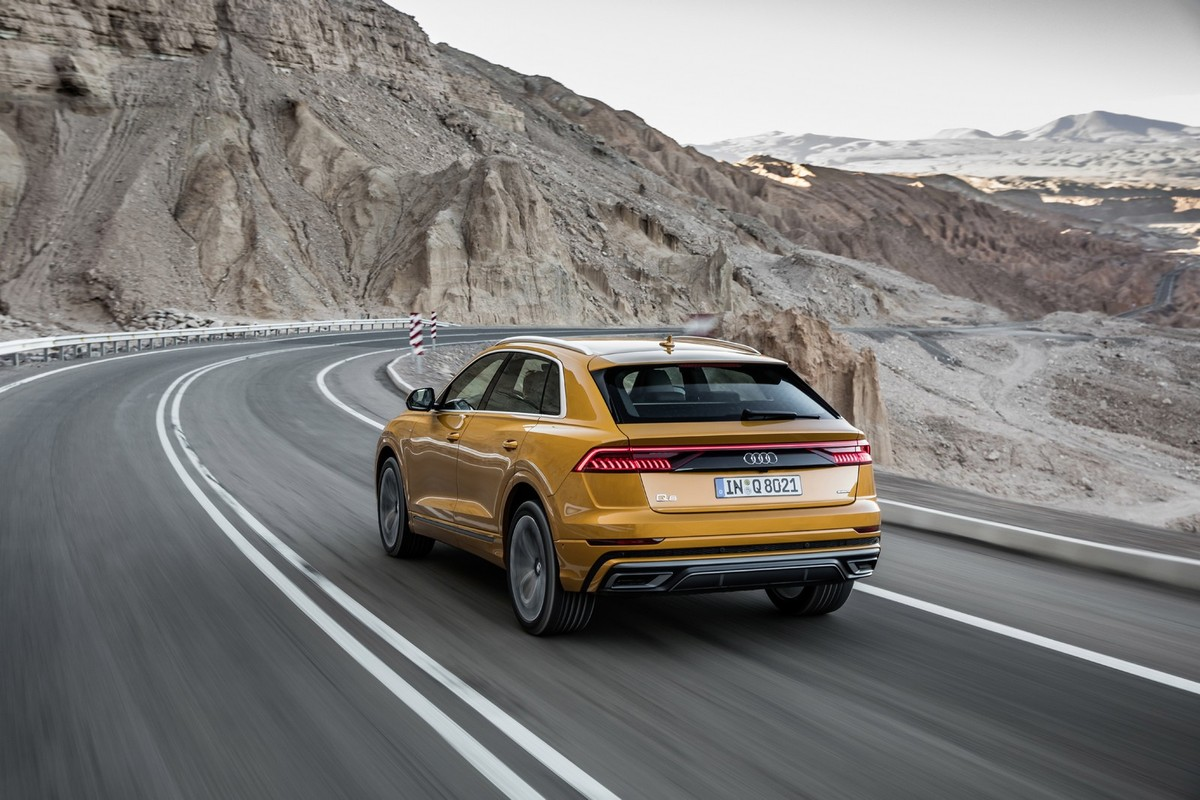Audi Q8 2018 International Launch Review Carscoza