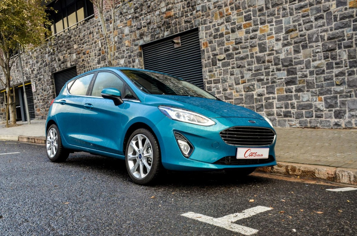 The new ford fiesta has finally made it to south africa not only does it look more attractive but its interior represents a significant improvement over