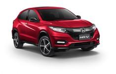 2018 Honda HR V Facelift Front Three Quarters Right Side