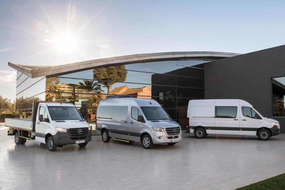 Mercedes-Benz Sprinter (2018) International Launch Review