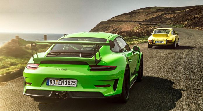 High 911 Gt3 Rs Isle Of Man 2018 Porsche Ag