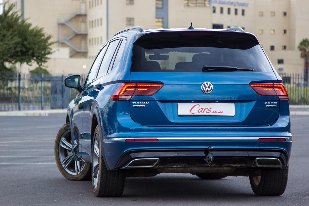 Volkswagen Tiguan Allspace 2 0 Tsi 4motion Comfortline R Line 2018