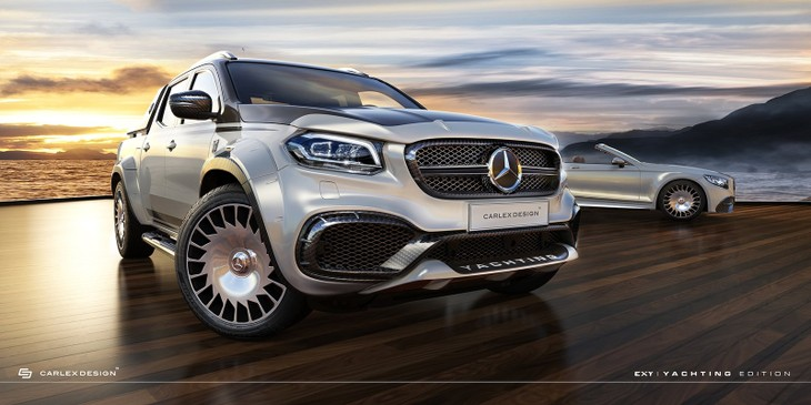 7b90d2f503 Does the idea of a blinged-up Mercedes-Benz X-class appeal to you