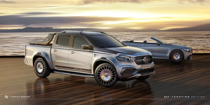 Maybach Inspired Mercedes Benz X Class Anyone Cars Co Za