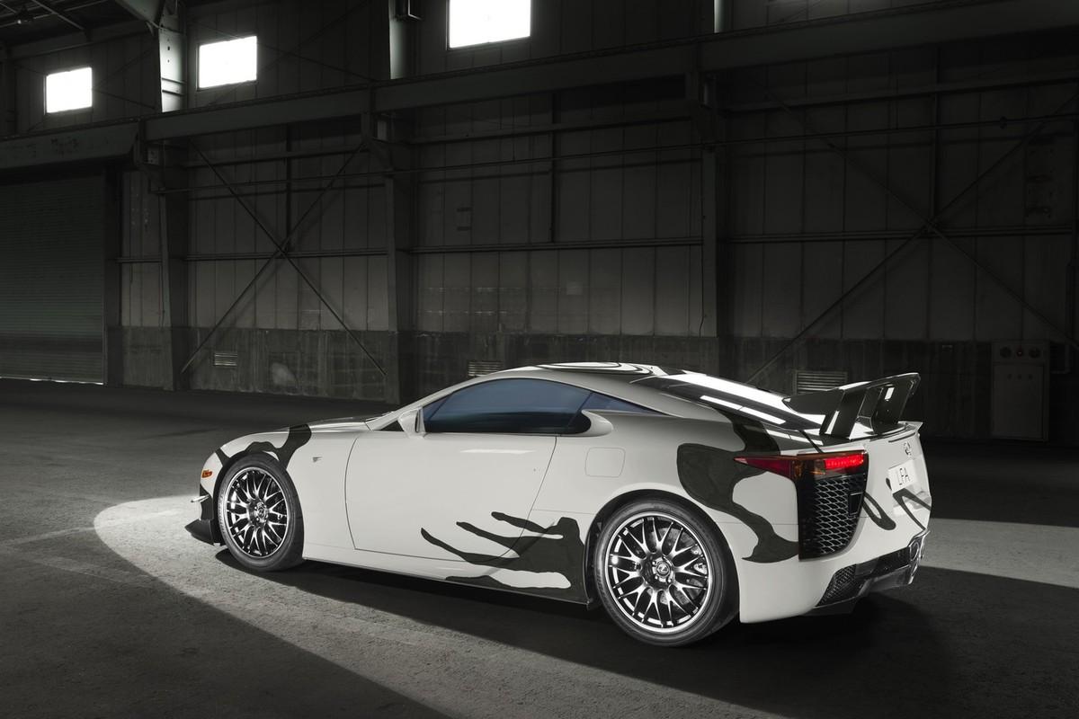 lexus art car unveiled at 24 hours of spa cars co za rh cars co za