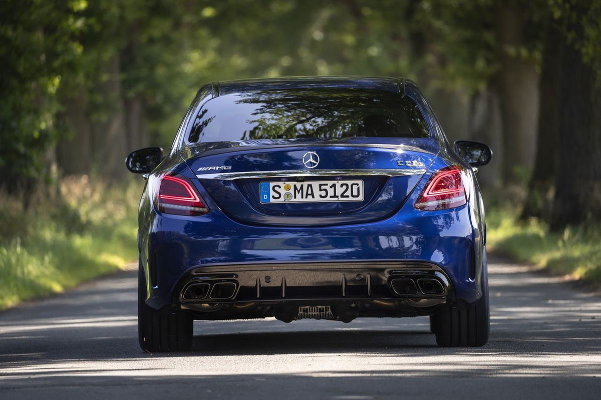 Mercedes-AMG C63 S (2018) International Launch Review ...