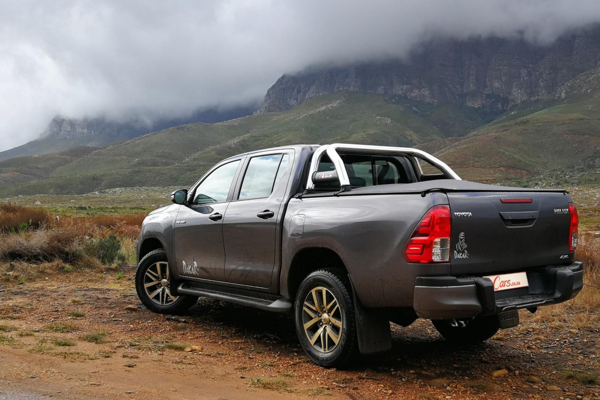 Toyota's limited-edition Hilux Dakar may focus on the visuals, but in a  cut-throat segment where status and desirability are increasingly  important, ...