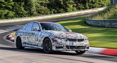 BMW 3 Series (2019) International Prototype Drive