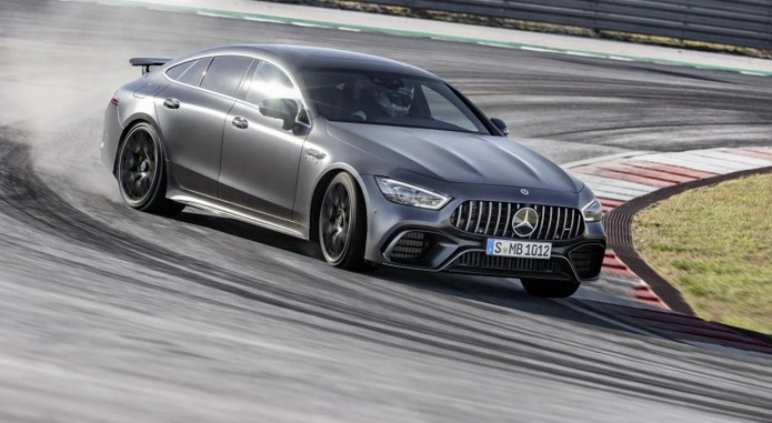 Mercedes Amg Gt 4 Door Coupe 4