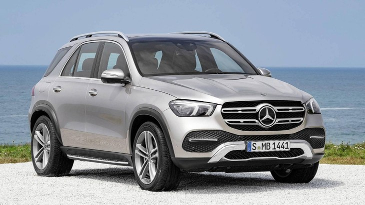 new mercedes benz gle revealed. Black Bedroom Furniture Sets. Home Design Ideas