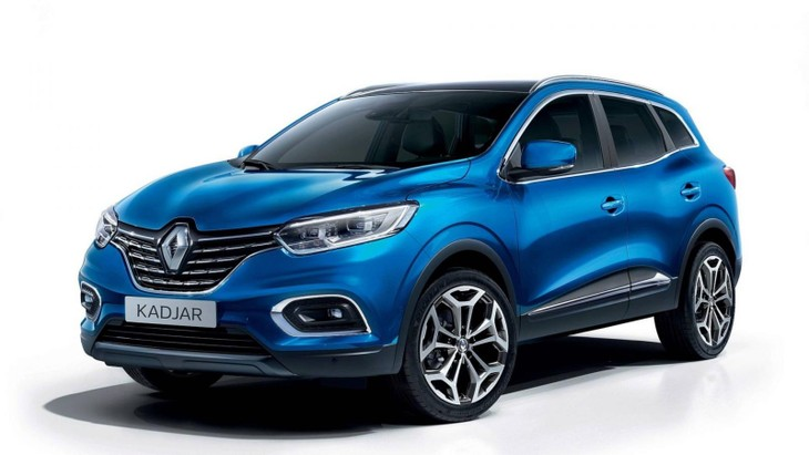 facelifted renault kadjar or koleos for sa