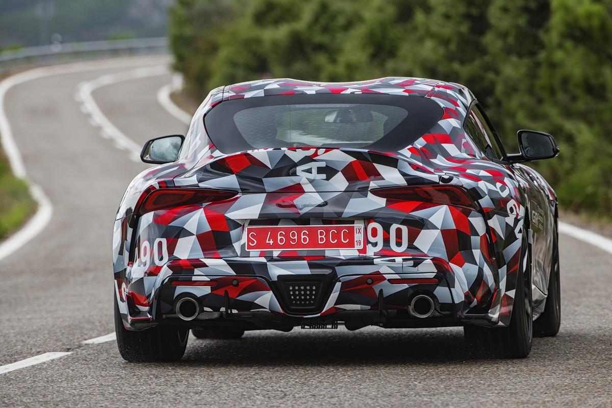 2019 Cars: Toyota Supra (2019) International Prototype Drive