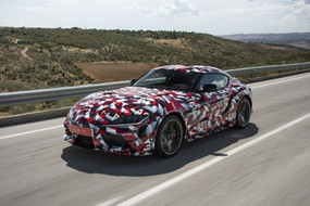 Toyota Supra (2019) Pre-production Drive