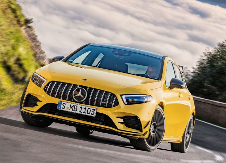Mercedes Amg To Launch A45 And A45 S Updated Cars Co Za