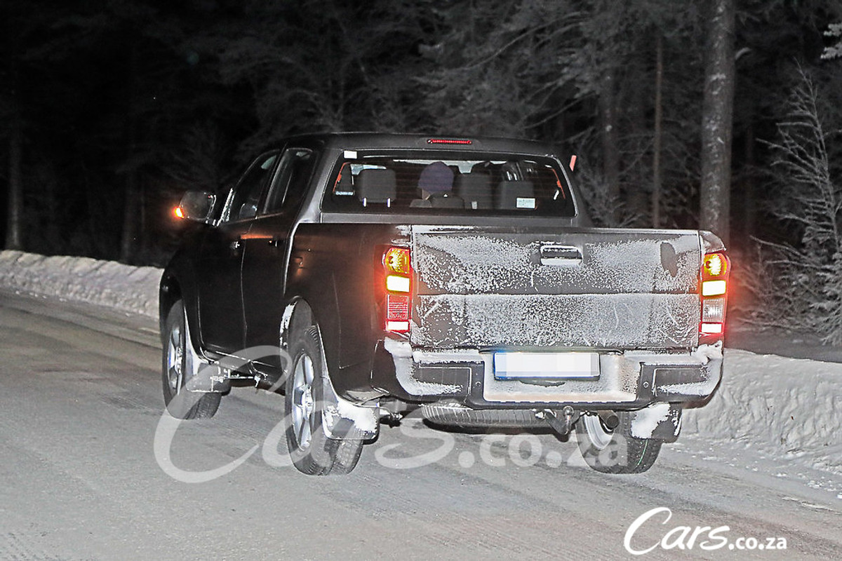 Spy Shots 2020 Isuzu D Max Cars Co Za