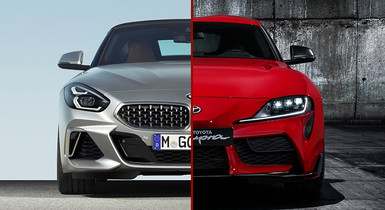 Toyota Supra vs BMW Z4: How Different Are They?