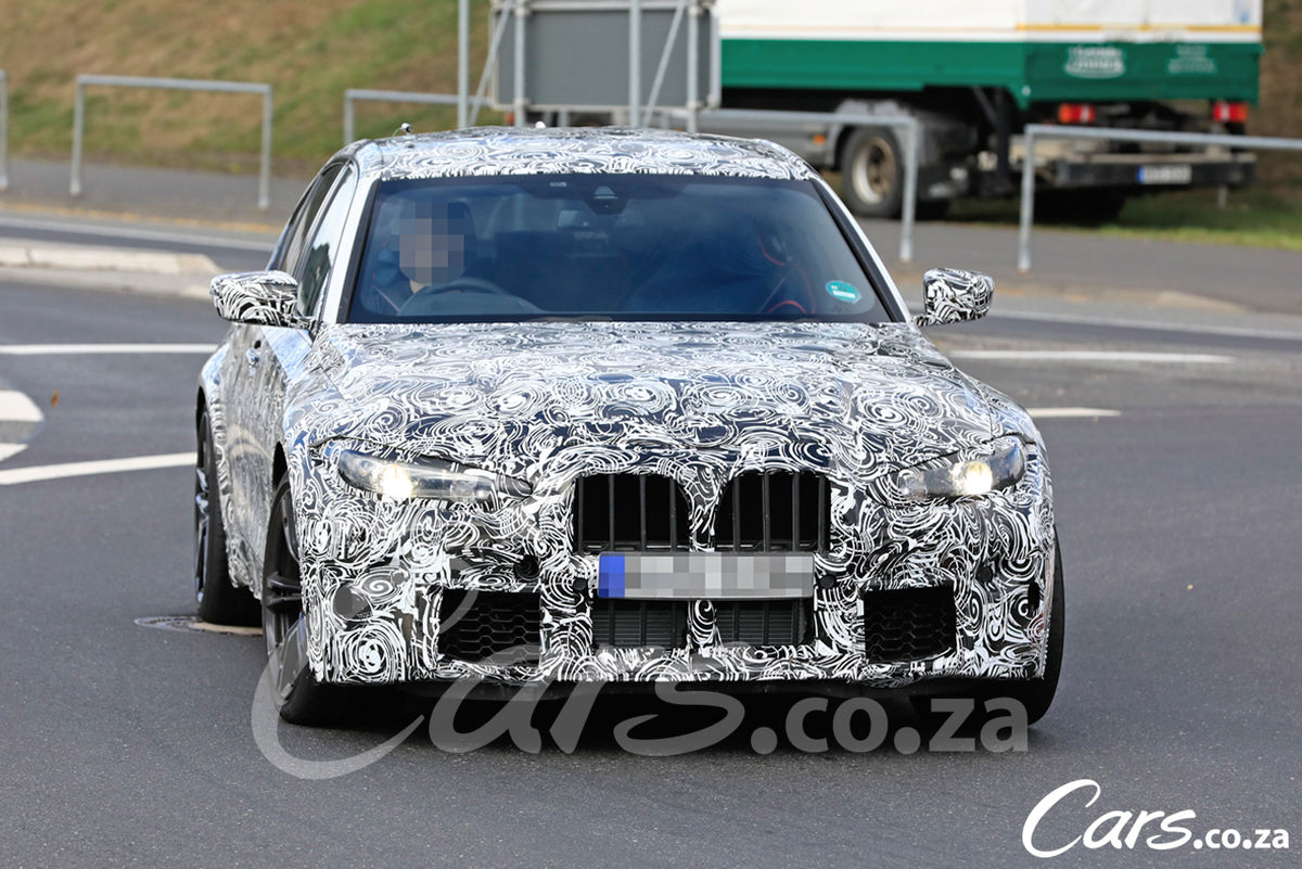 spy shots  2021 bmw m3