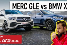 BMW X5 xDrive30d vs Mercedes-Benz GLE 400d (2019) Comparative Review [w/Video]
