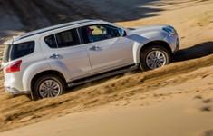 Isuzu Mu X Sand Dune 1