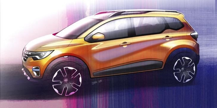 New Renault TRIBERsketch