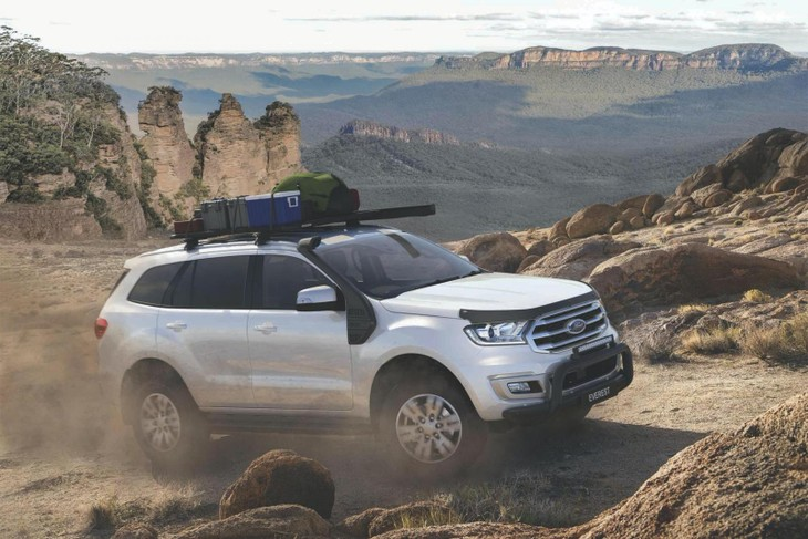Ford Everest BaseCamp Accessories Pack Australia Spec 2