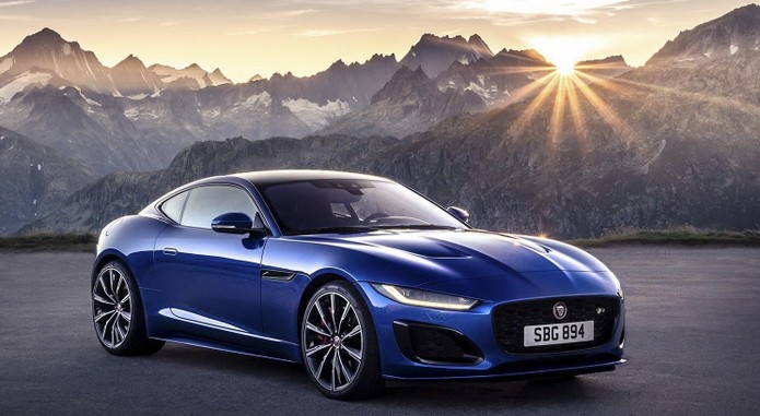 2021 Jaguar F Type Facelifposemain