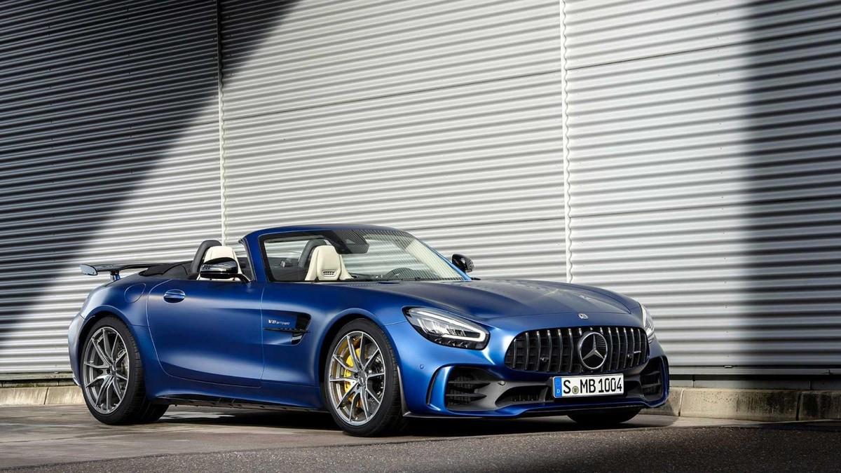 Mercedes Amg Gt R Roadster Revealed Cars Co Za