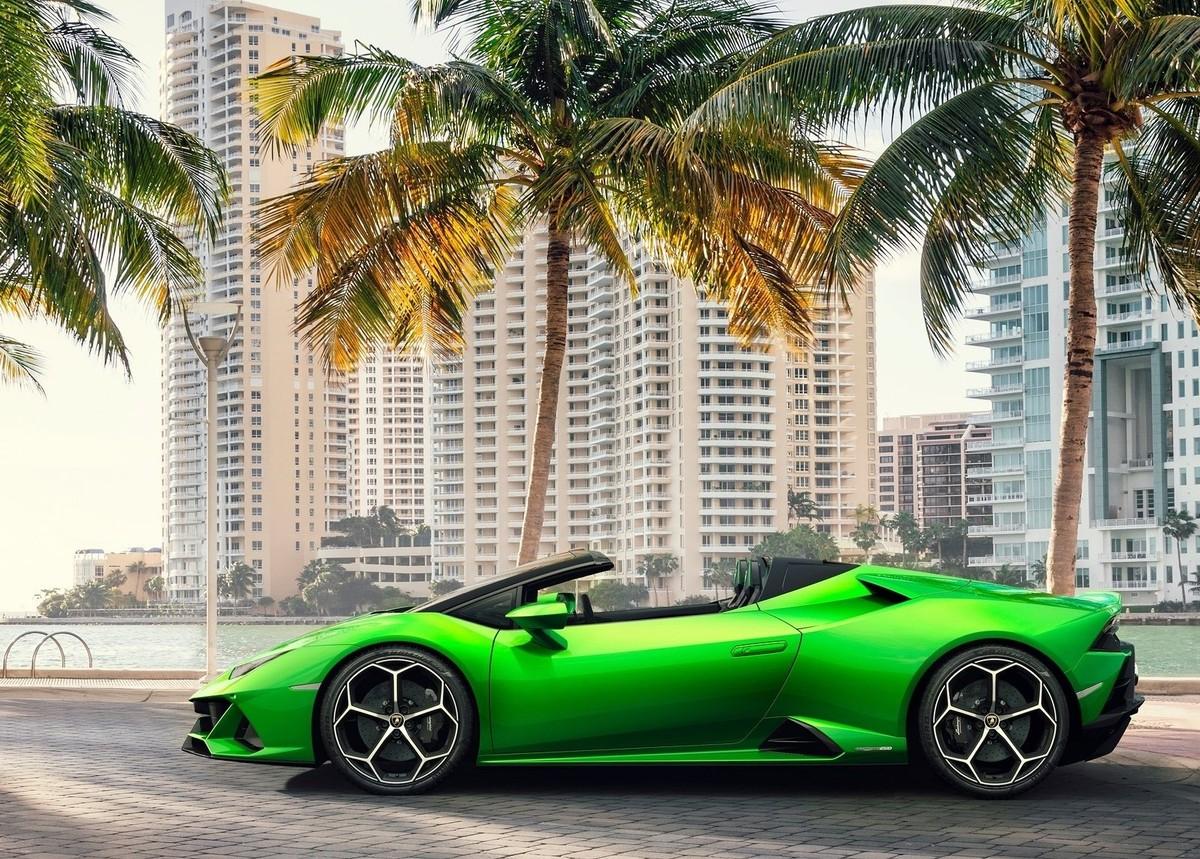 Lamborghini Announces Huracan Evo Spyder Cars Co Za