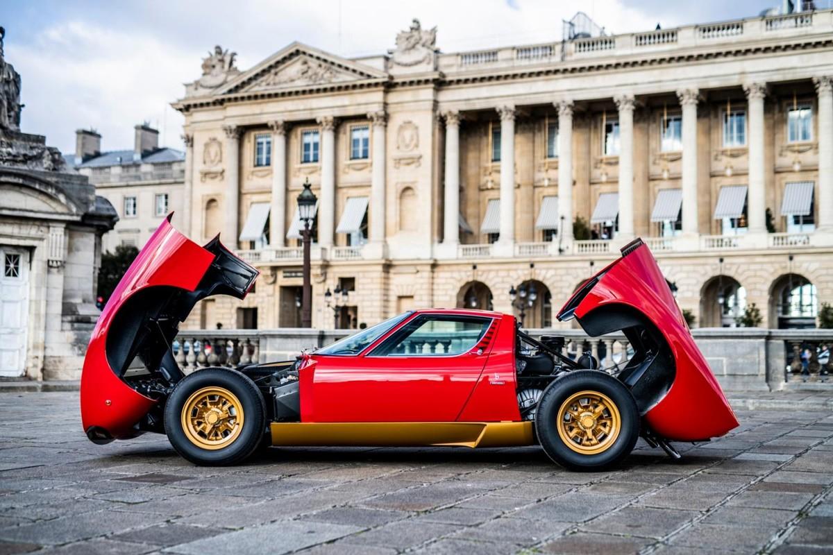 Stunning Lamborghini Miura Sv Restored With Sa Heritage Cars Co Za