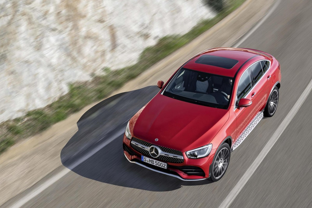 Revealed: Mercedes' Revised GLC Coupe - Cars co za