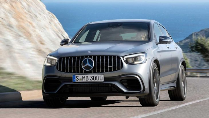 2019 Mercedes Amg Glc 63 Coupefrnt