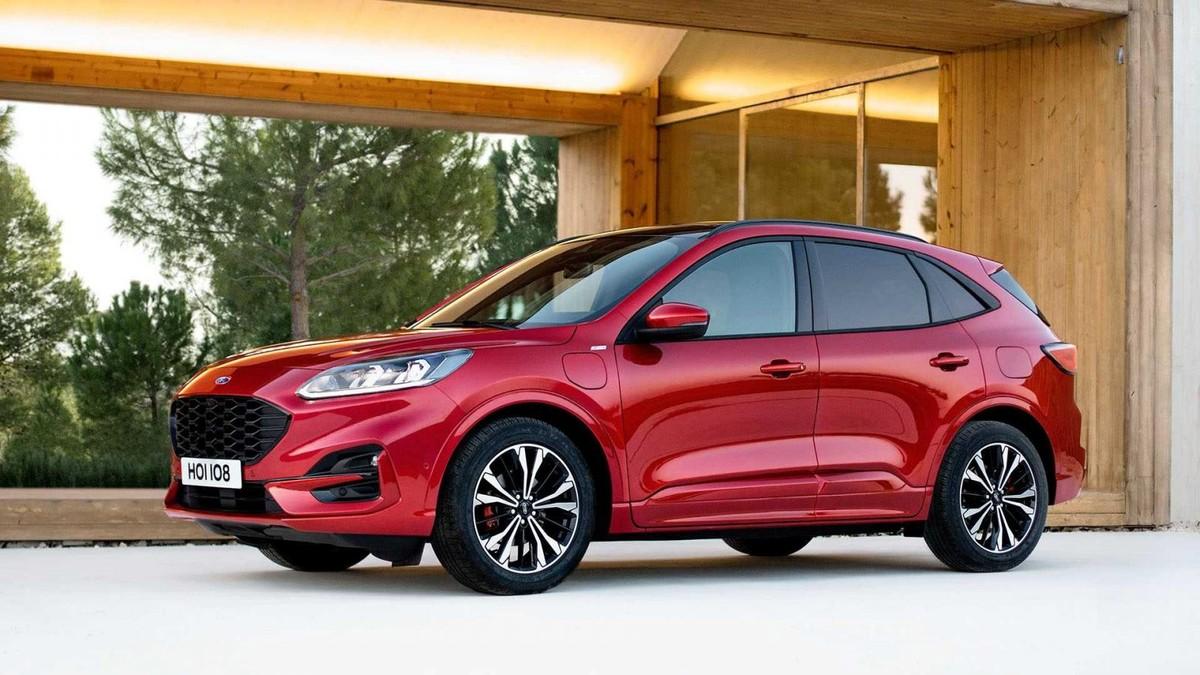new ford kuga revealed  carscoza