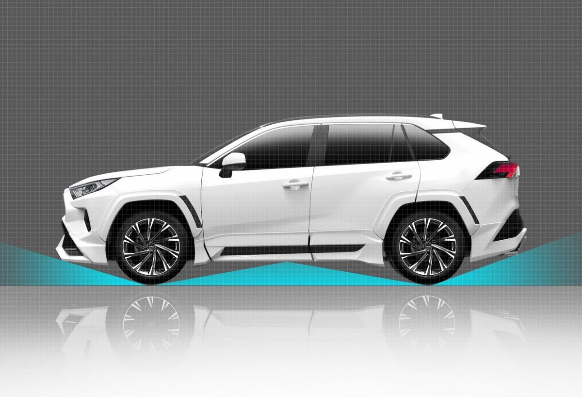 The toyota rav4 was recently launched in south africa but the brands trd division has been busy preparing sportier and more offroad biased kits for the