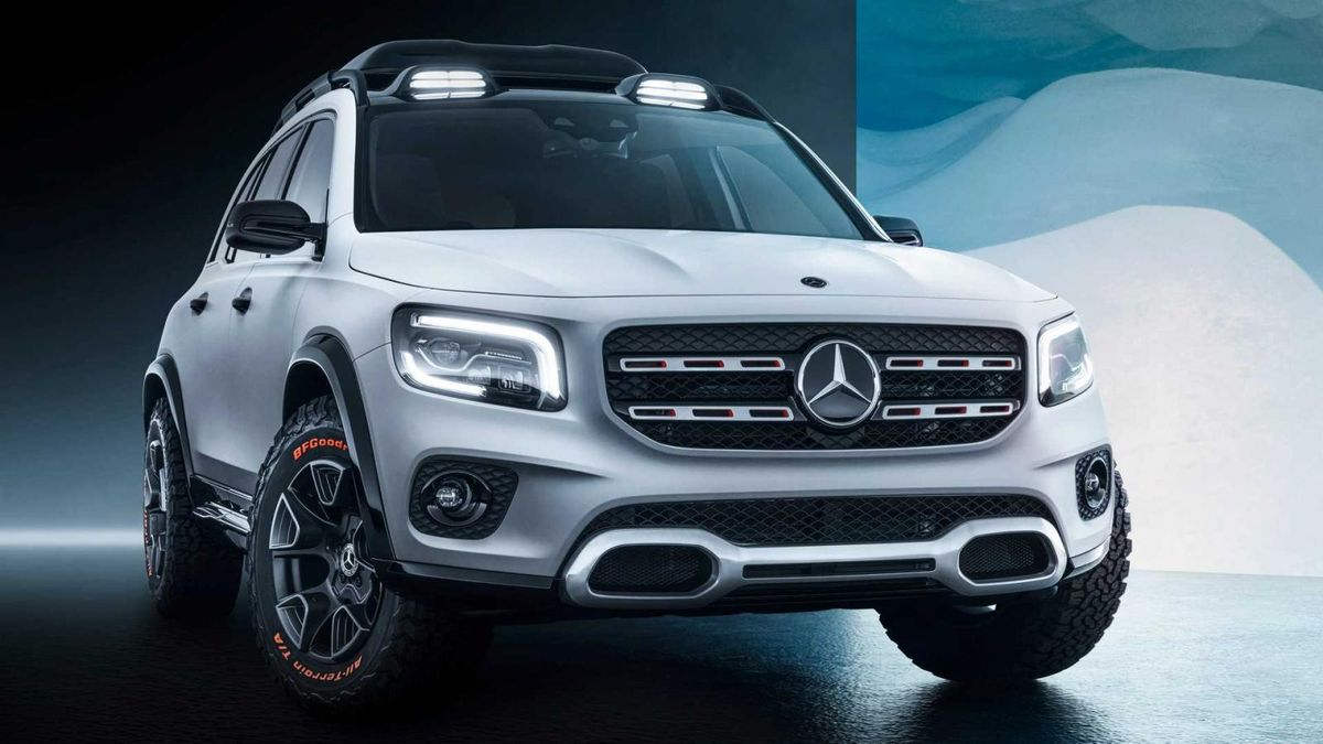 Glb Is Benz S New 7 Seater Suv Cars Co Za