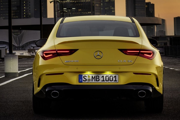 Mercedes Amg Cla35 Revealed Cars Co Za