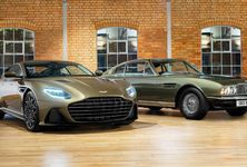 Aston Martin Dbs Superleggera On Her Majesty S Secret Service