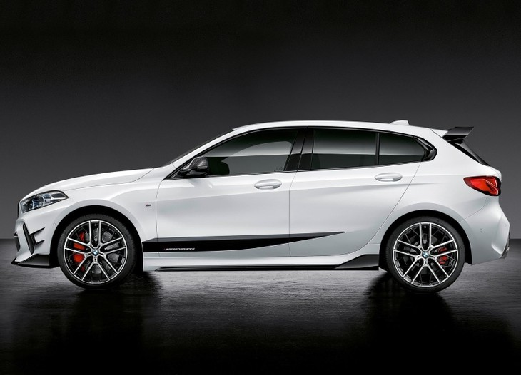 Bmw Showcases All New 1 Series With M Performance Parts