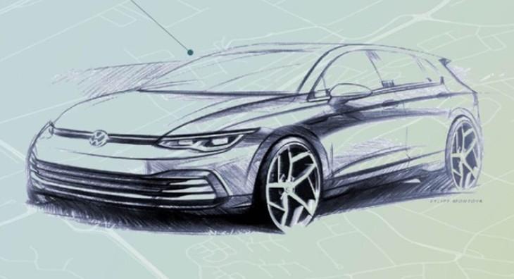 Golf8 Sketch1