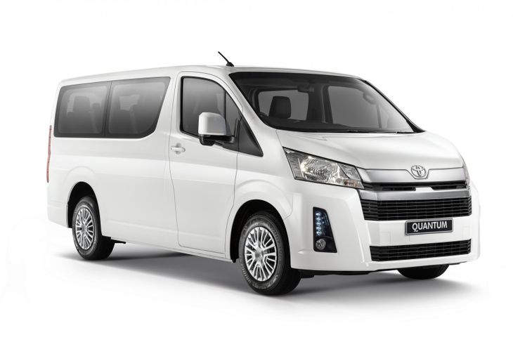 toyota has announced pricing and specification details for its new quantum minibus and panel van here s how much the new model costs