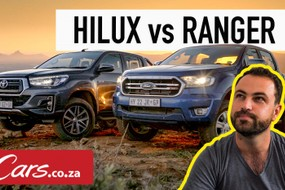 Toyota Hilux vs Ford Ranger (2019) Comparative Test