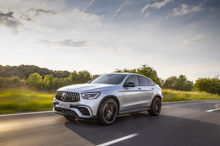 Mercedes-AMG GLC 63 S Coupe (2019) International Launch