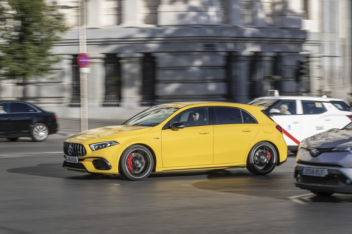 Mercedes Amg A45 S 2019 International Launch Review Cars